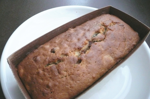 オーガニック薄力粉でパウンドケーキ