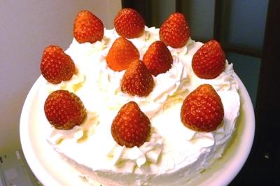 井村さんの万能白米粉で作ったスポンジケーキ