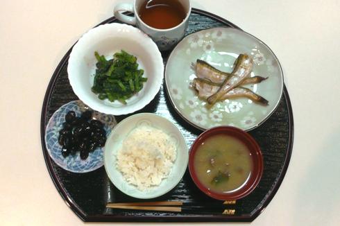 有機JAS認証米・トリプルオーガニック認証米みつひかりで純和食の夕食