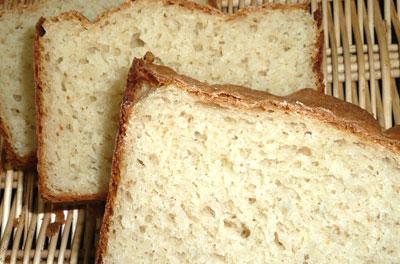 玄米粉20%のパン