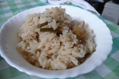 トリプルオーガニック認証米の混ぜご飯