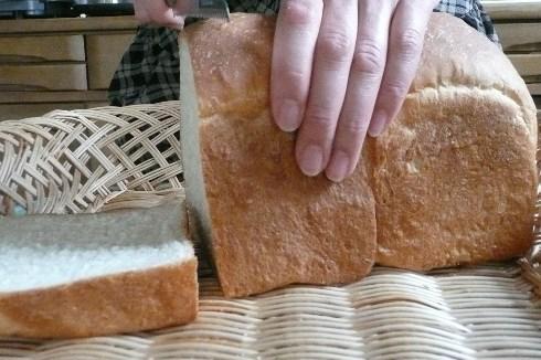 ゆきちからで焼いたパン