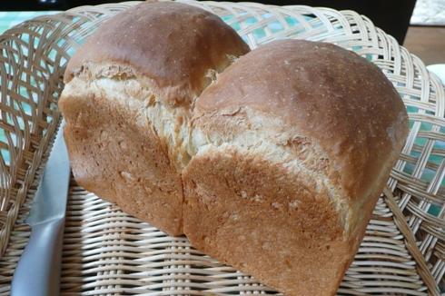 ゆきちからでパン焼きました