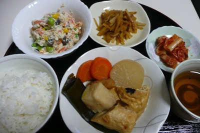 金沢大地の木綿豆腐を使っておいしいヘルシー安全なお惣菜『白和え』
