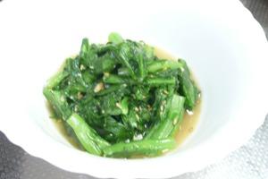 春菊のお料理