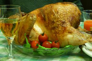 クリスマス用特大チキン丸ごとグリル