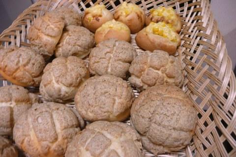 南部小麦でメロンパン